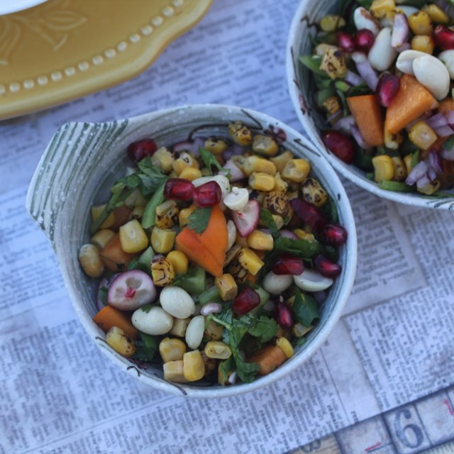 Harvest Corn Salsa Chaat