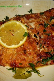Broiled Thai Red Curry Fish