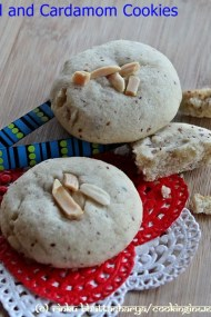 Nankhatie - Almond and Cardamom Cookies