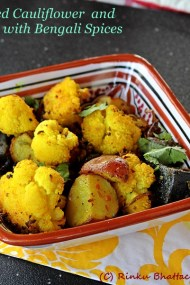 Roasted Cauliflower with Bengali Five Spices