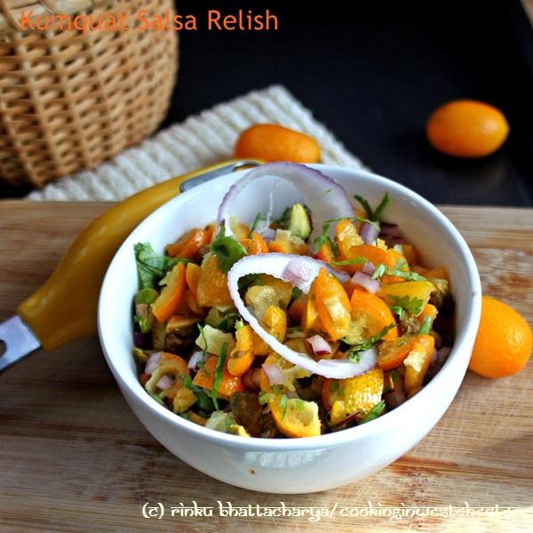 Kumquat and Red Onion Salsa
