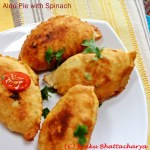 Aloo Pie with Spinach