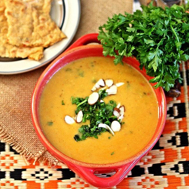 Creamy Curried Cauliflower Soup