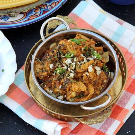 Chicken Bhartha – Shredded Slow Cooked Chicken