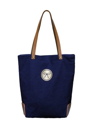 Equestrian Crest Bag Navy back