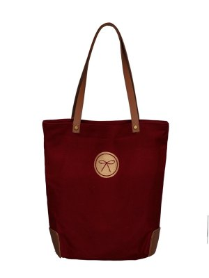 equestrian crest bag wine back