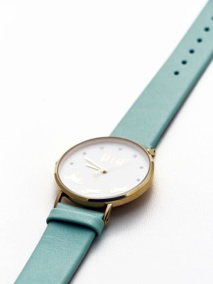 Bascule-Wrist-Watch-Mint-Face-1