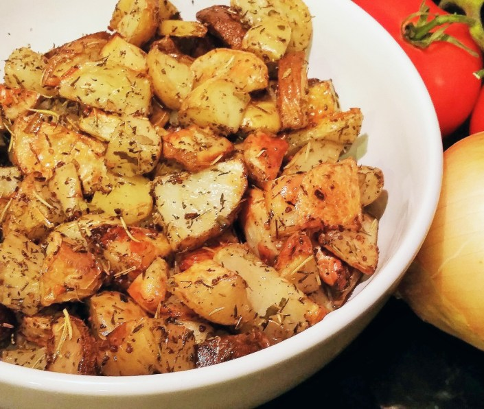 Bavarian Roasted Potatoes