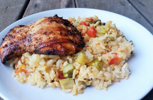 Harissa grilled chicken