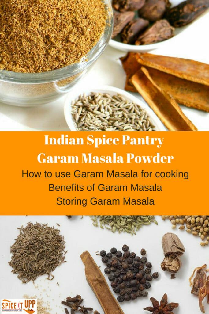 How to use Garam Masala benefits