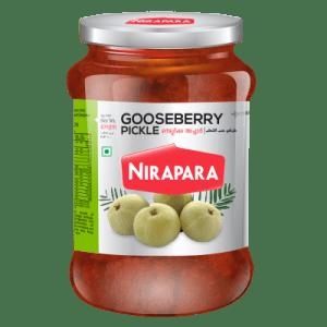 Nirapara Gooseberry Pickle 400 gms