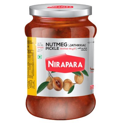 Nirapara Nutmeg Pickle 400 gms