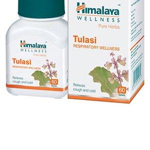 Himalaya Tulsi Respiratory wellness tablets
