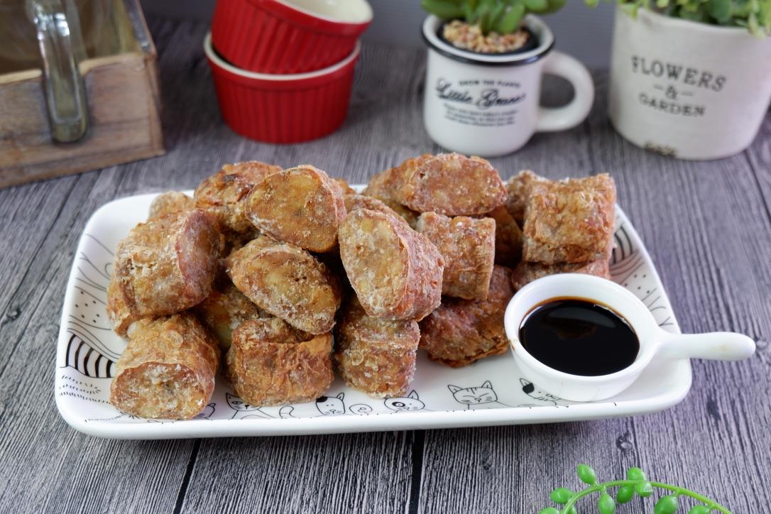 Teochew Crispy Prawn Rolls (Hei Zho) 虾枣