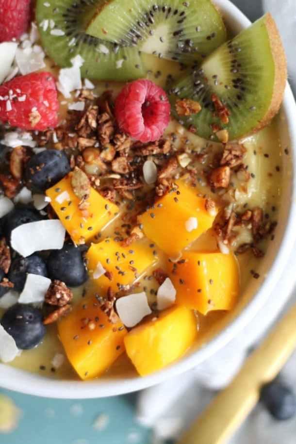 Mango Smoothie Bowls