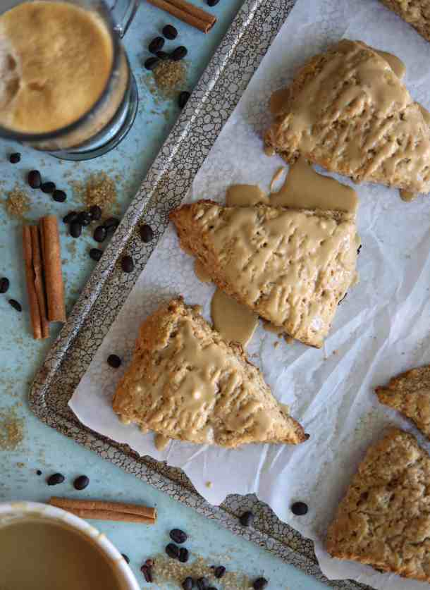 Dirty Chai Scones