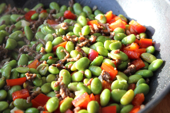 Easy Ground Beef and Edamame (4 of 8)