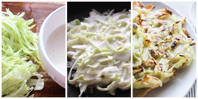 How to Make Easy Cabbage Pancake