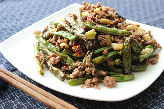 Spicy Ground Beef And Green Beans Spice The Plate
