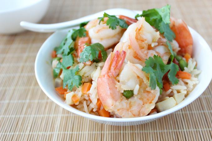 Shrimp Simmered Rice-5