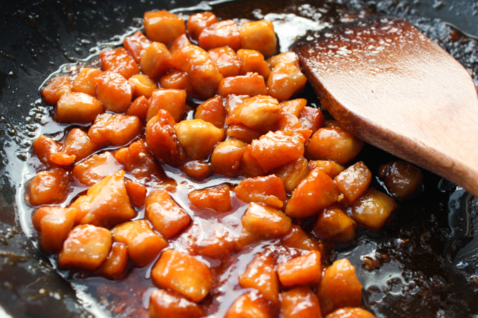 Sweet and Sour Chicken Cooking2