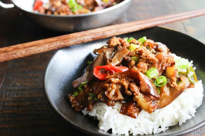 Eggplant Stir-fry