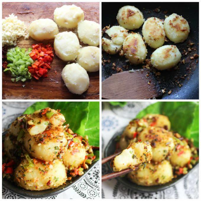 How to make Cumin Pan-seared Potato