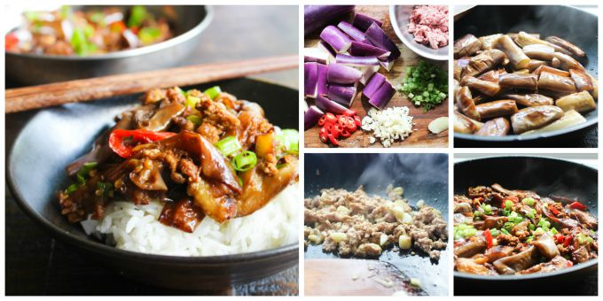 How to make Eggplant Stir-fry