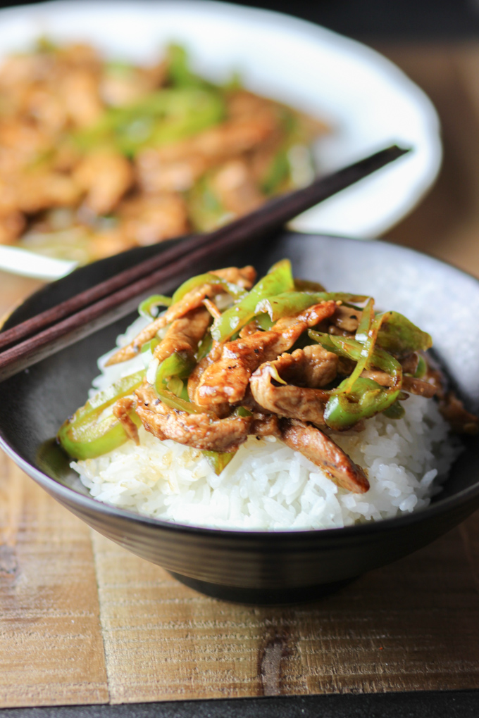Green Pepper and Pork Picture