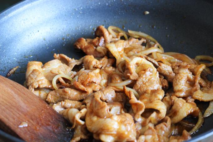 Stir fry Pork Belly