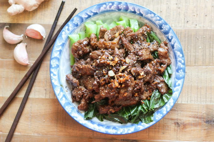 Beef with Chinese Broccoli Feature