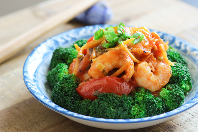 Shrimp and Broccoli Stir-fry Image