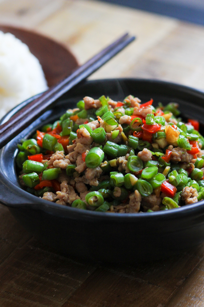 Minced Pork with Green Bean
