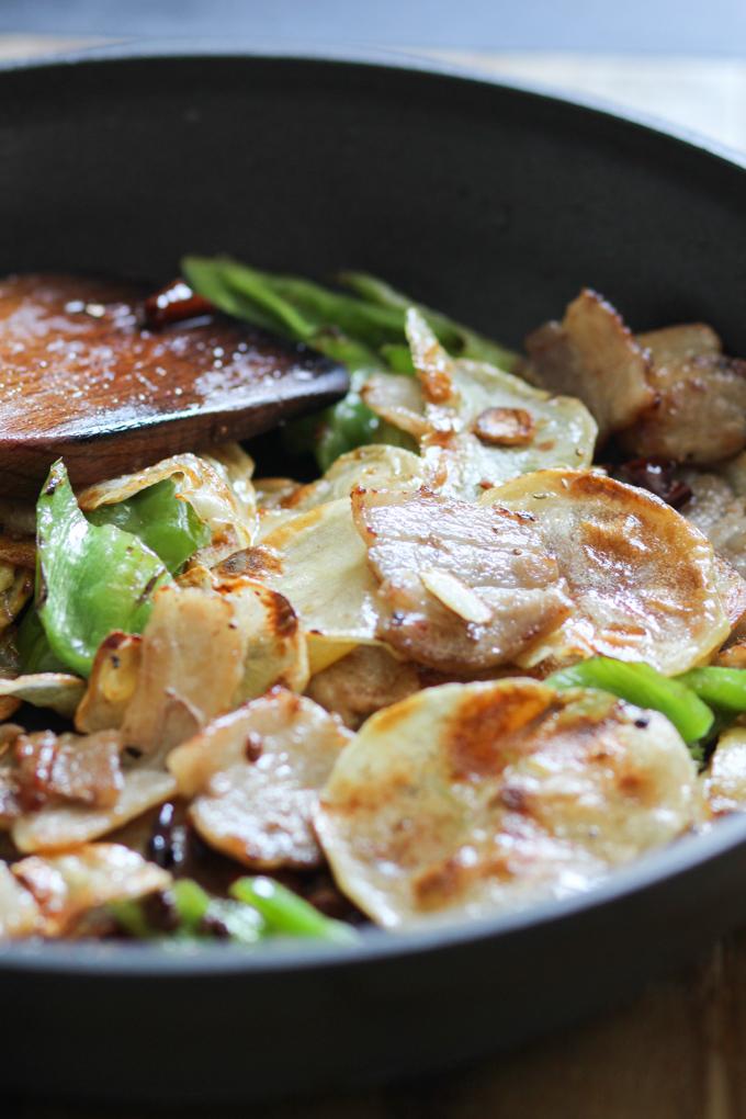 Cook Pork Belly and Crispy Potato