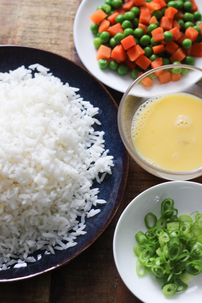 vegetable fried rice ingredients