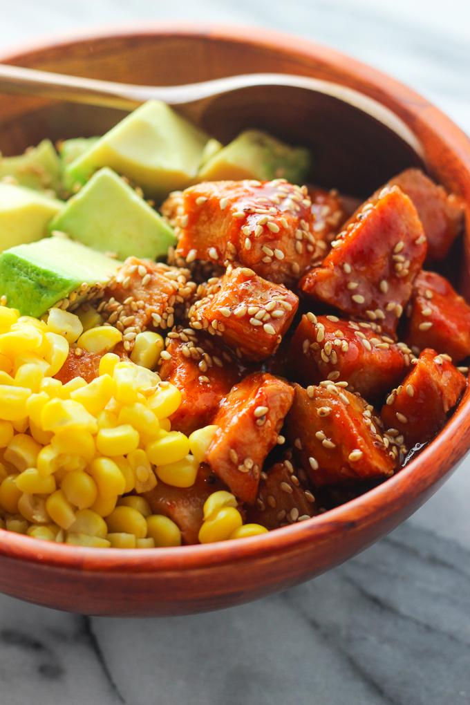 Sriracha Chicken and Avocado