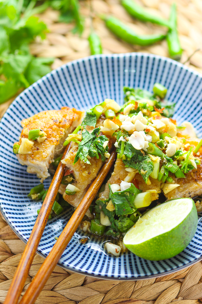 Cilantro Thai Chicken