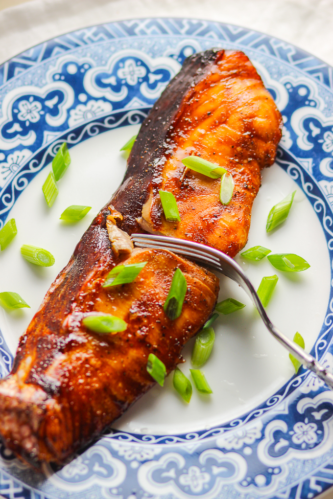 15-minute Easy Teriyaki Salmon