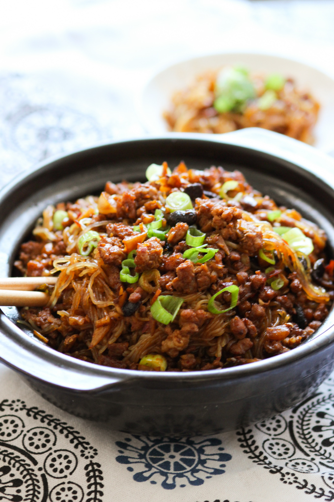 Minced Pork Vermicelli
