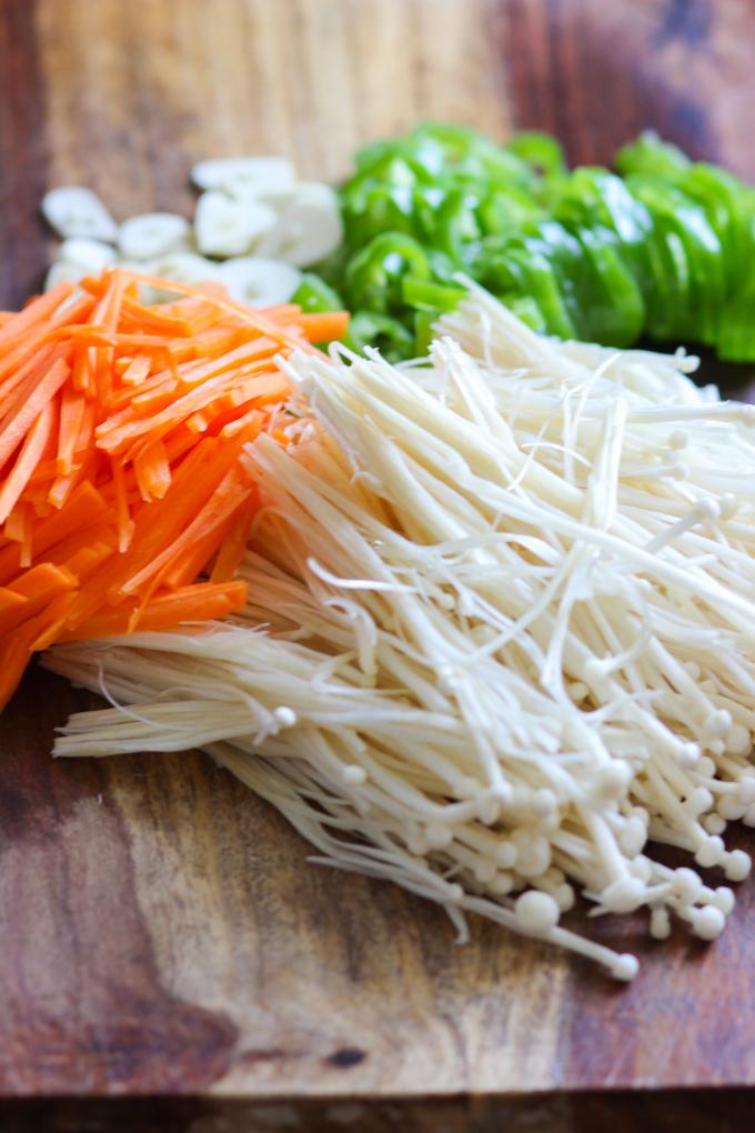 Vegetable Stir Fry Ingredient