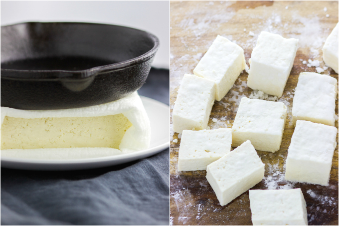 How to prepare tofu before cooking
