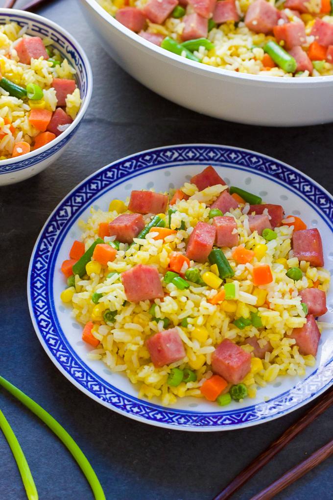 Tasty Spam Fried Rice