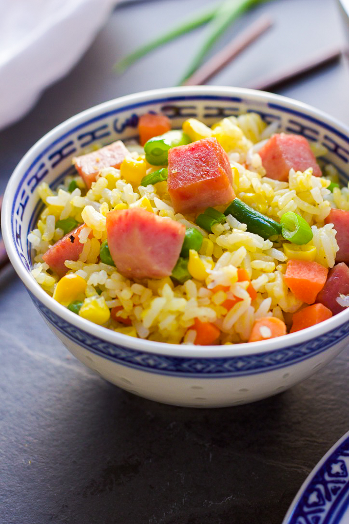 Enjoy Tasty Spam Fried Rice
