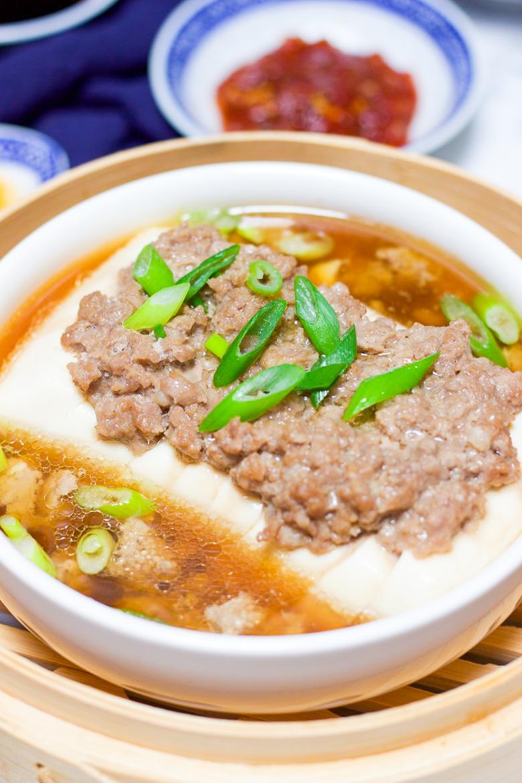 Healthy Steamed Tofu