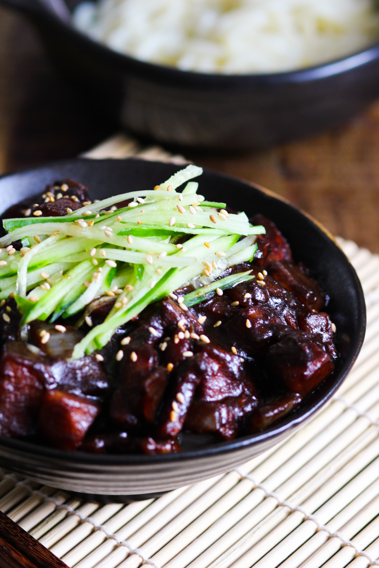 Better-Than-Takeout Black Bean Sauce Noodles (Jajangmyeon)