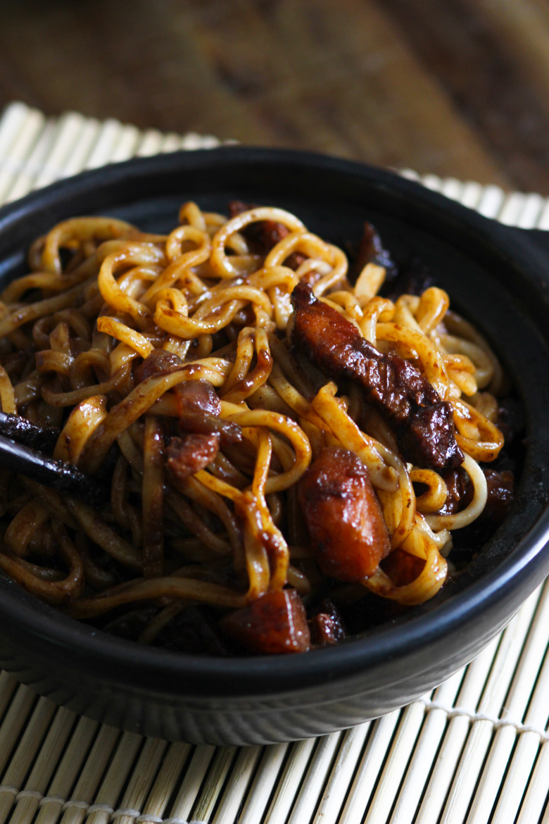 Better-Than-Takeout Korean Black Bean Sauce Noodles