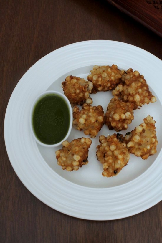 Sabudana Pakoda Recipe | How to make sabudana pakora