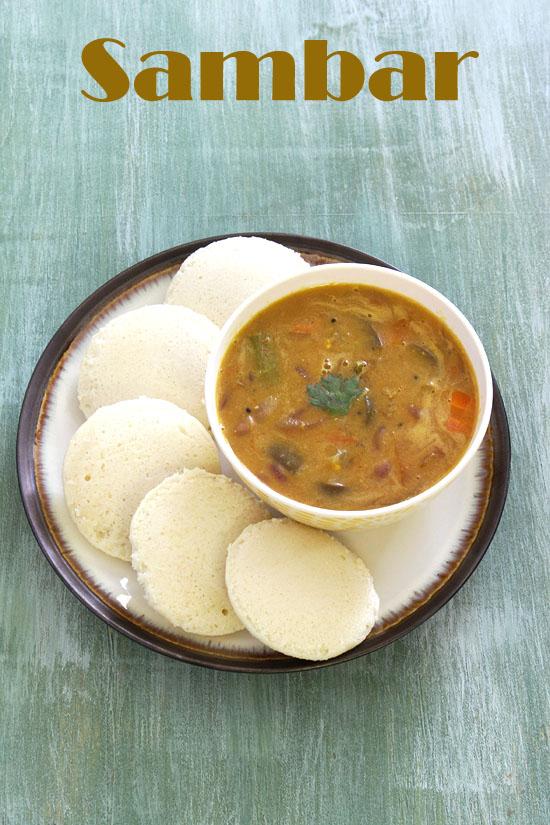 Sambar Recipe How To Make Sambar South Indian Vegetable