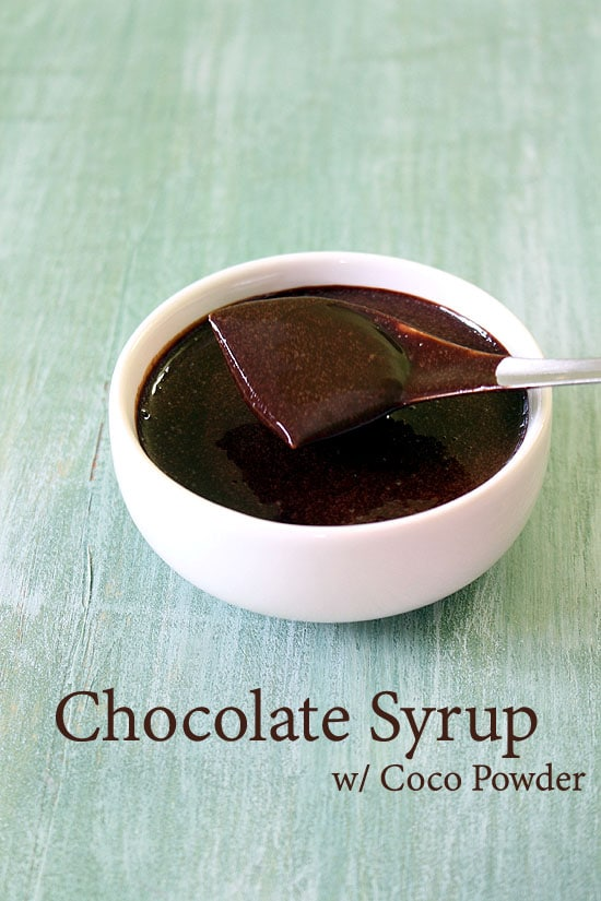 Chocolate Sauce Recipe (Chocolate Syrup Recipe with Cocoa