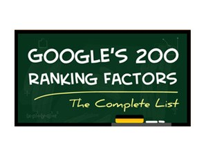 Google's 200 Ranking Factors